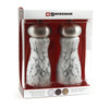 """Swissmar Andrea Marble Mill Set With Stainless Steel Top 6"""" (SM-1507ST)"""