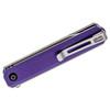 CIVIVI Chronic Purple G10 (C917D) - closed clipside