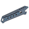 CIVIVI Mandate Blue Titanium + 3 Blades (C2007B) - closed clipside