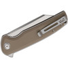 CIVIVI Brigand Tan G10 (C909B) - closed clipside