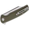 CIVIVI Brigand Green G10 (C909A) - closed clipside