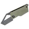 Kizer CyberBlade Green G10 (V2561N2) - open