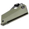 Kizer CyberBlade Green G10 (V2561N2) - closed scales