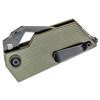 Kizer CyberBlade Green G10 (V2561N2)- closed clipside