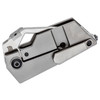 Kizer CyberBlade Silver Titainium (Ki2563A1) - closed clipside