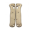 Flytanium Benchmade Mini Bugout Brass Scales (FLY-677)