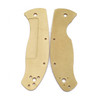 Flytanium Spyderco Tenacious Scales Brass (FLY-576)