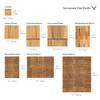 ChopValue Charcuterie Board & Platter Set (PS20020101) - size guide