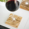 ChopValue Coaster 2Pc set (CS10110102) -wine