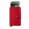 Secrid Miniwallet Red (M-Red-Red) - cards