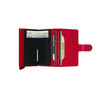 Secrid Miniwallet Red (M-Red-Red) - open