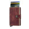 Secrid Miniwallet Vintage Brown (MV-Brown) - cards