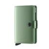 Secrid Miniwallet Metallic Green (Mme-Green) - front