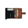Secrid Miniwallet Dutch Martin Whiskey (MDM-Whiskey) - open