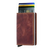 Secrid Slimwallet Vintage Brown (SV-Brown) - cards