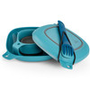 UCO Gear 6Pc Mess Kit Blue (F-MK-CORE6PC-BLUE) packed away