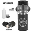 UCO Gear Original Lantern Kit Grey (L-C-KIT-GREY) components and features
