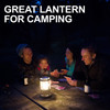 UCO Gear Candlelier Lantern Aluminum (C-A-STD) lifestyle camping