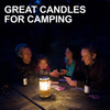 UCO Gear 9 Hour Citronella Candles 3Pc (L-CAN3PK-C) camping candle