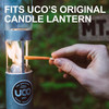 UCO Gear 9 Hour Citronella Candles 3Pc (L-CAN3PK-C) use in candle lantern