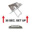 UCO Gear Mini Flatpack Portable Grill & Firepit (GR-MFPG) setup instructions
