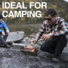 UCO Gear Mini Flatpack Portable Grill & Firepit (GR-MFPG) in use camping