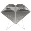 UCO Gear XL Flatpack Portable Grill & Firepit (GR-XLFPG) open straight on