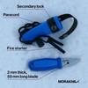 Morakniv Eldris Knife Kit Blue (M-12631) components