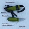 Morakniv Eldris Knife Kit Green (M-12633) component