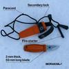 Morakniv Eldris Knife Kit Burnt Orange (M-13502) components