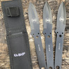 KA-BAR Throwing Knife Set 3Pc (1121) lifestyle