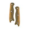 KA-BAR Short Becker Drop Point (BK16) extra brown handle scales
