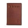 Knafs Leather Strop Wallet Brown (KNAFS-00013) front