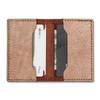Knafs Leather Strop Wallet Brown (KNAFS-00013) open wallet