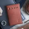 Knafs Leather Strop Wallet Brown (KNAFS-00013) lifestyle