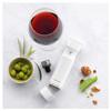 Zwilling Fresh & Save Wine Sealer Set 3Pc (36802-003) lifestyle with vacuum pump