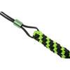 WE Paracord Lanyard Titanium Bead Green + Black (A-01A) bead