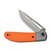 CIVIVI Trailblazer Orange (C2018A) half open