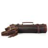Knife Roll Company Torino Ranch Dark Brown 10 Slot Knife Roll (KR21002) shoulder strap
