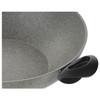 "Ballarini Ferrara Granitium Wok 14"" (75002-477) stay cool handles"