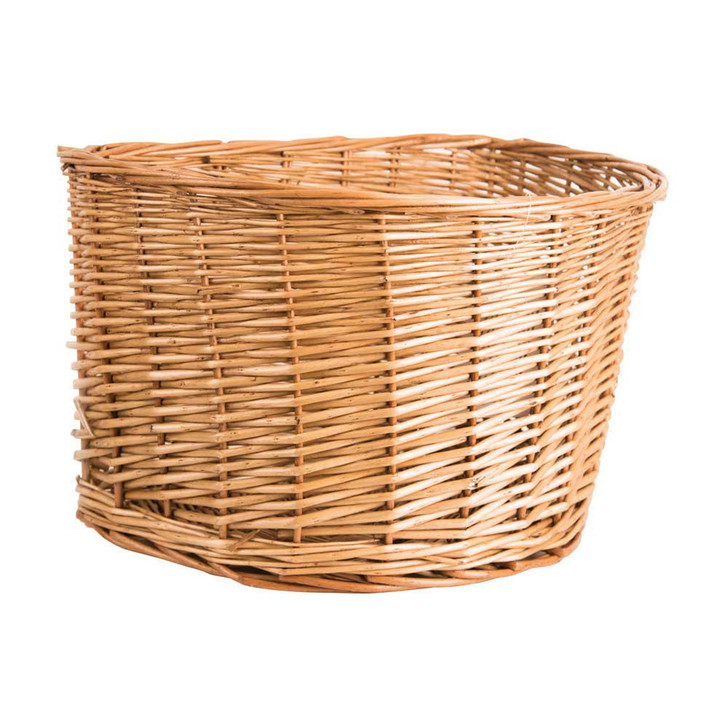 Adie Wicker Bicycle Basket D Shape 16 Inch