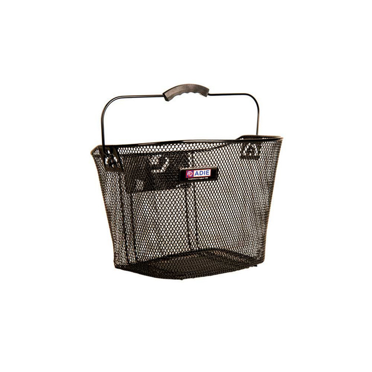 Adie Front Mesh Bicycle Basket with QR Bracket