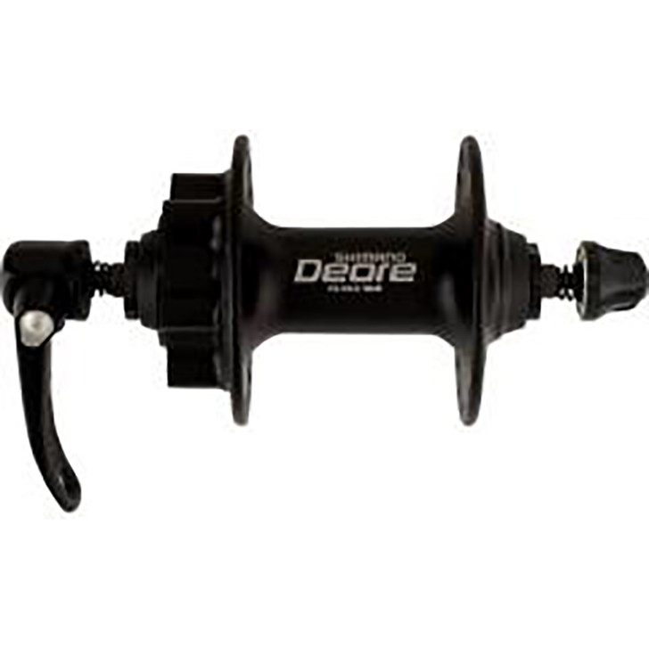 Shimano  Front hub Deore disc 6 bolt 32 hole black. (3147)