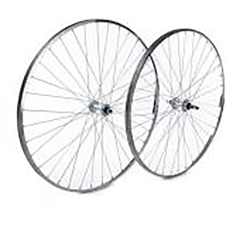 Tru-Build Rear wheel 26x1.75 black alloy rim, 8/9 speed cassette hub body (casse (5482)