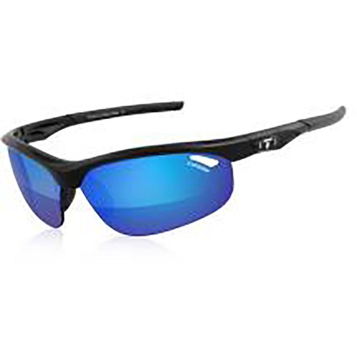 Tifosi Gloss Black/Blue Veloce Clarion Lens Cycling Sunglasses  (14594)
