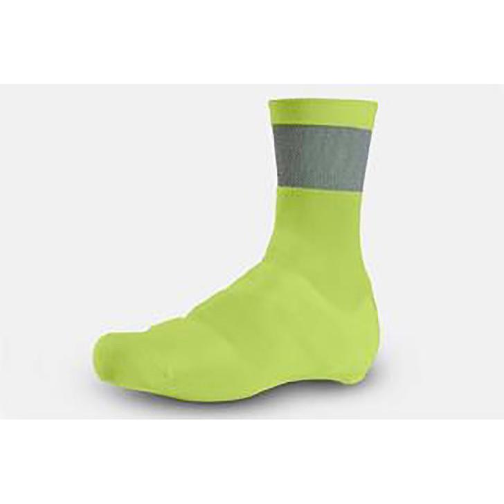 Giro Knit Cycling Shoe Cover With Cordura Yellow - Eurocycles