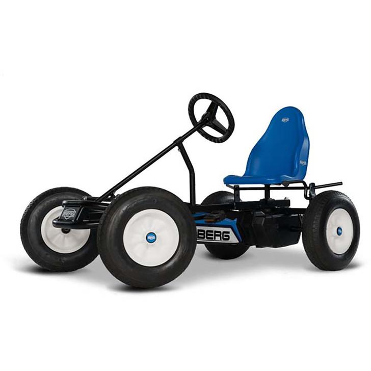 Berg Basic BFR Blue Pedal Go Kart Side view (5 yrs +) plus free passenger seat - Eurocycles