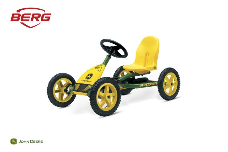 Berg Buddy John Deere Yellow/Green Pedal Go Kart