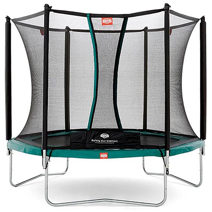 Berg Talent 240 + Safety Net Comfort 8ft Trampoline_1