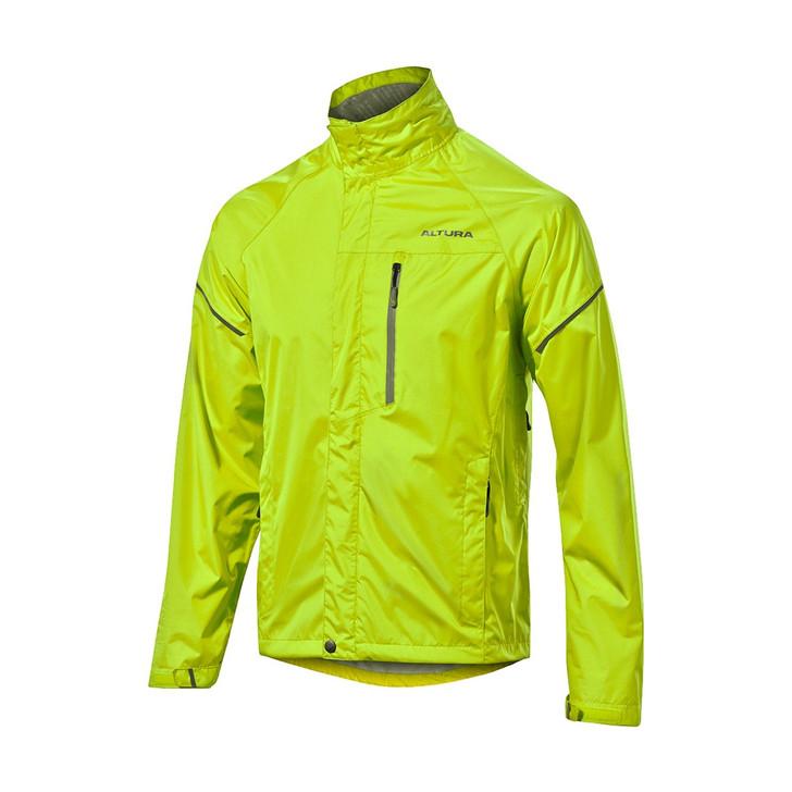 Altura Nevis Waterproof Jacket Hi-Viz Yellow  front
